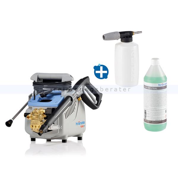 Kränzle K 1050 P Hochdruckreiniger im AKTIONSSET tragbarer Hochdruckreiniger mit Edelstahl Jet-Lanze 49501 Aktionsset
