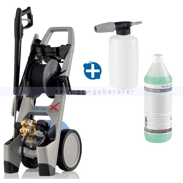 Hochdruckreiniger Kränzle X A17 TST mit Reiniger & Injektor