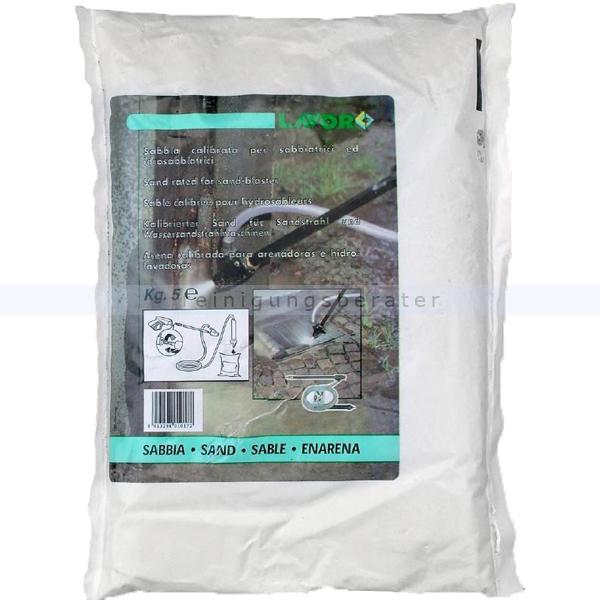 Hochdruckreiniger Zubehör Lavor Sandstrahlmittel 6x5 Kg speziell für die Sandstrahllanzen kalibriert 0.011.0001