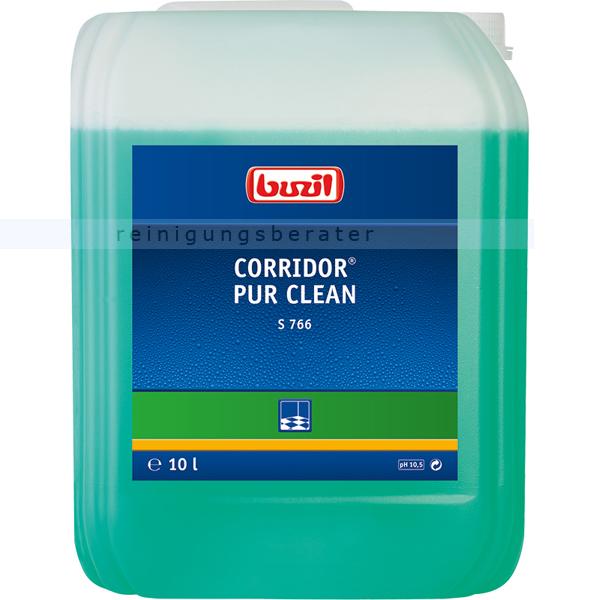 Buzil S766 Corridor PUR Clean 10 L Für alle wasserbeständigen Fußbodenbeläge S766-0010R1