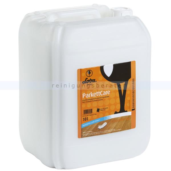 Holzbeschichtung LOBA® ParkettCare 10 L gebrauchsfertiges Pflegemittel für Parkett- und Holzböden 100114-32