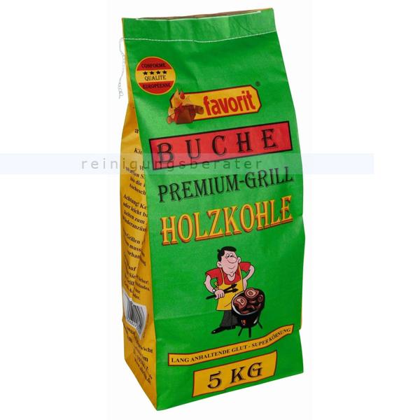 Sack Grillkohle Laubholz Favorit Lübzer Restaurant Holzkohle Gastro Kohle 15 Kg