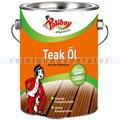 Holzpflegeöl Poliboy Teak-Öl für Hartholz 2,5 L