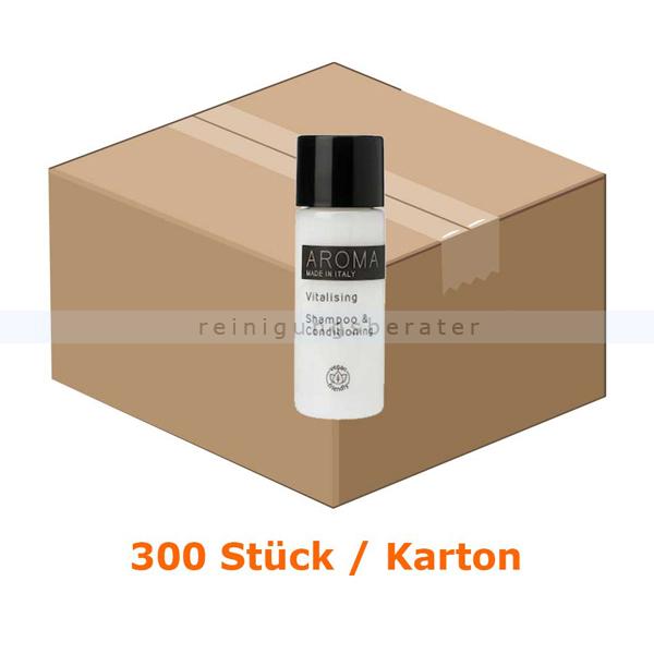 ReinigungsBerater Aroma Shampoo 300 x 30 ml Flacon Hotelshampoo für Großverbraucher wie Hotels oder Pensionen 80003602