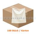 Hotel Wäschebeutel aus Baumwolle mit Kordelzug, 100 Stück