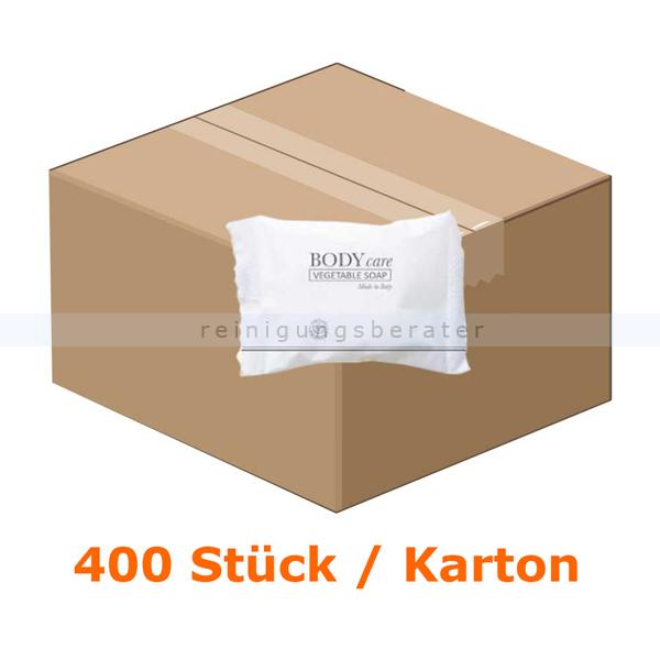 ReinigungsBerater Hotelseife 20 g im Flowpack, 400 Stück für Großverbraucher wie Hotels oder Pensionen 80000209