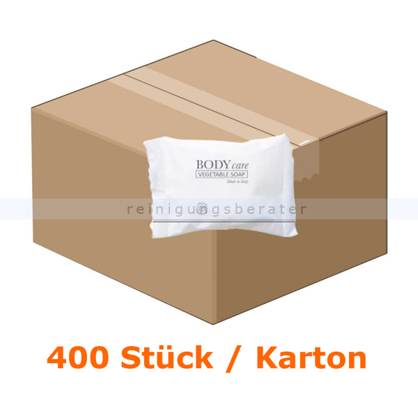 ReinigungsBerater Hotelseife rund 20 g im Flowpack, 400 Stück für Großverbraucher wie Hotels oder Pensionen 80000209