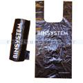 Hundekotbeutel BINsystem Plastiktüten 200 Stück schwarz