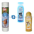 Hundeshampoo Hundepflege-Set mit Hundehandtüchern