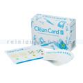 Hygiene Kontrollset Clean Card® Pro Pack mit 50 Teststreifen