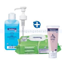 Hygiene Set Grippeschutz Desinfektions-/Pflegeset für Hände