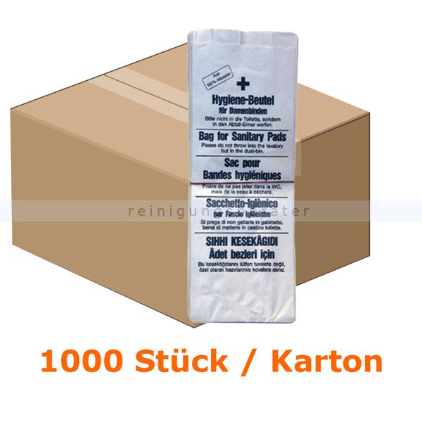 Hygienebeutel 1000 Stück Papier