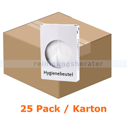 Hygienebeutel All Care Polybeutel Karton mit 25 Pack