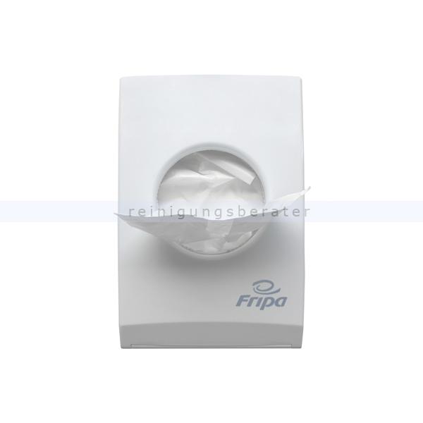 Hygienebeutelspender Fripa Kunststoff weiß