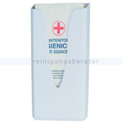 Hygienebeutelspender Orgavente BASICA Kunststoff weiß