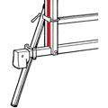 Hymer Fußverlängerung für Glasreinigerleiter Unterteil