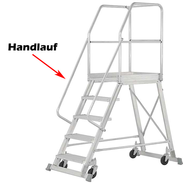Hymer Handlauf für Podesttreppe 91688805 Zubehör Podestleiter 51777