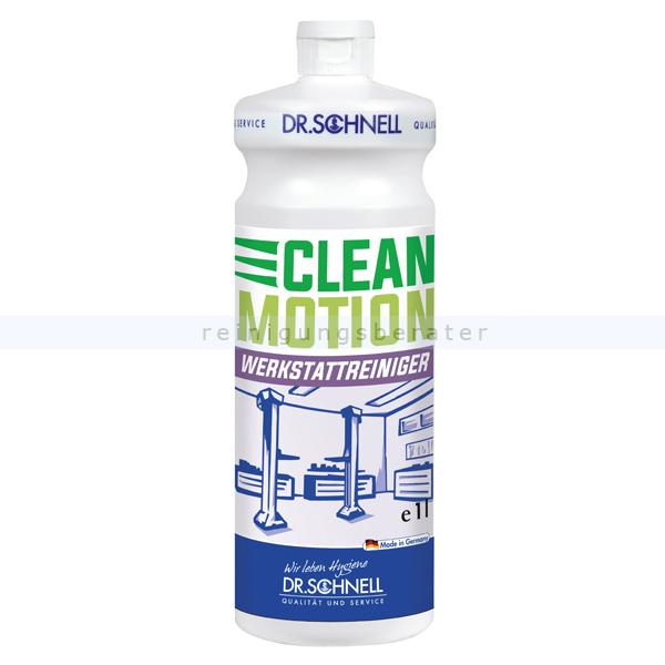 Dr. Schnell Clean Motion Konzentrat 1 L Industriereiniger Industrie- und Werkstattreiniger 31919