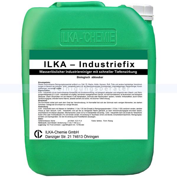 ILKA Chemie ILKA Industriefix 10 L wasserlöslicher Industrie- und Maschinenreiniger 0810010