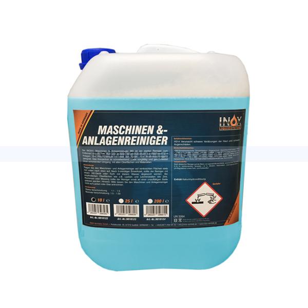 Inox Maschinen- & Anlagenreiniger MS 10 L Industriereiniger starker Reiniger zum Entfernen von Öl, Fett, Ruß 9010122