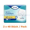 Inkontinenzvorlagen Tena ProSkin Comfort Extra 2 x 40 Stück