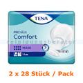 Inkontinenzvorlagen Tena ProSkin Comfort Maxi 2 x 28 Stück