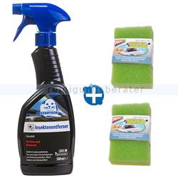 Insektenentferner Set 500 ml und Insektenschwamm 2 Stk.