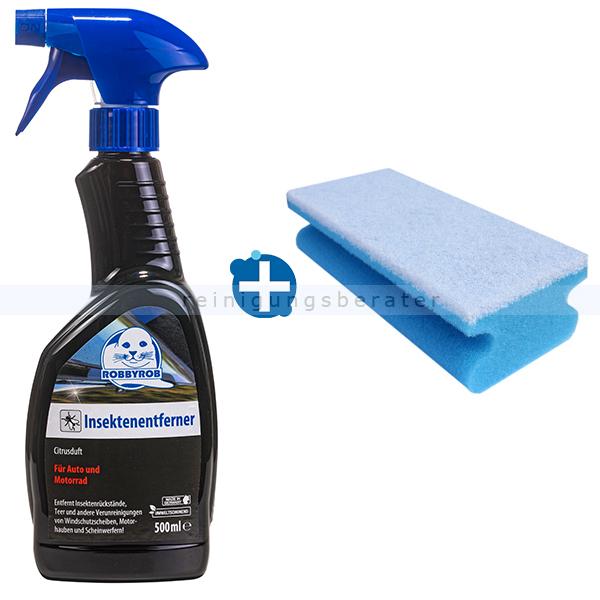 ReinigungsBerater Insektenentferner SET für die Fahrzeugpflege Insekten entfernen: Insektenentferner & Schwamm siehe SL