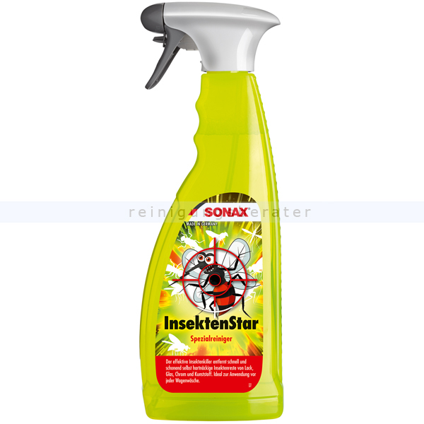 SONAX Insektenschwamm 2 Stück Insekten Verschmutzungen Entferner Insekten Schwam