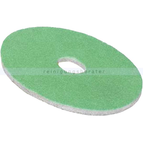 Juwex Pad grün, sehr fein 3000er Körnung, 410 mm 16 Zoll Veredelung und Politur für Glanz und Trittsicherheit 9541044.000000