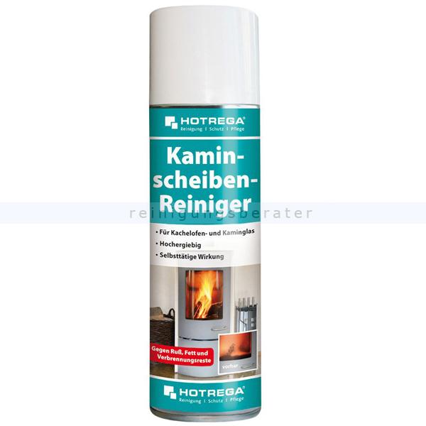 Kaminscheibenreiniger Hotrega 300 ml für Kachelofen- und Kamingläser aller Art H130907