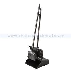 Kehrgarnitur mit Standschaufel Haug Master, PVC