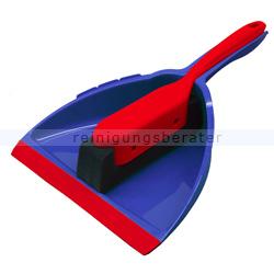 Kehrgarnitur Schaumstoff Garnitur Wunderkehrer blau/rot