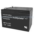Kehrmaschinen Batterie Haaga Bleibatterie 12 V 15 Ah