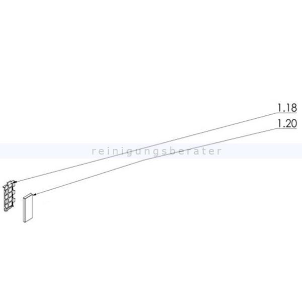 Haaga 452265 Set Filter das Set ersetzt die Einzelbestandteile