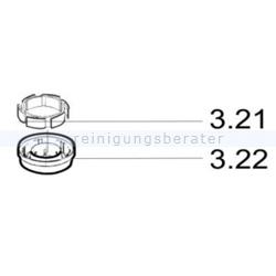 Kehrmaschinen Zubehör Haaga Set Kupplung 375-4XX-6XX
