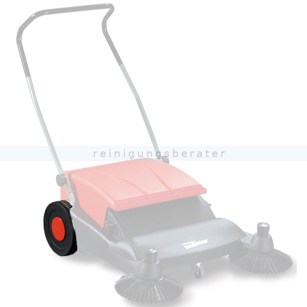 Stolzenberg 103405 Ersatzrad für Twinner 800 Kehrmaschine Ersatzteil für Kehrmaschine Twinner 800