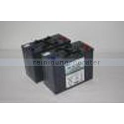 Kehrsaugmaschine Cleanfix 4x Gelbatterien KS 1100