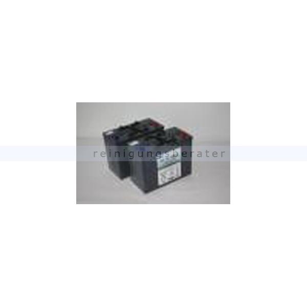Kehrsaugmaschine Cleanfix 4x Gelbatterien KS 1100 4x6V/180 Ah