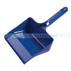 Kehrschaufel Haug eckig blau