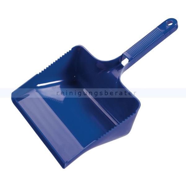 Kehrschaufel Haug eckig blau Schaufel 22 cm breit, geeignet nach HACCP & lebensmittelecht 1772