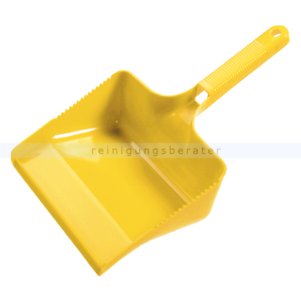 Kehrschaufel Haug eckig gelb Schaufel 22 cm breit, geeignet nach HACCP & lebensmittelecht 1774