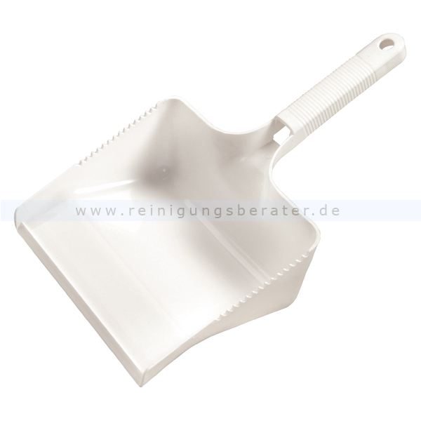 Kehrschaufel Haug eckig weiß Schaufel 22 cm breit, geeignet nach HACCP & lebensmittelecht 1770
