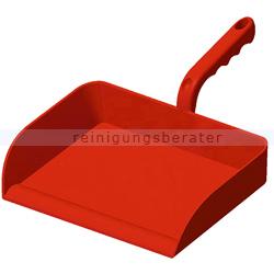 Kehrschaufel Haug groß ohne Lippe, PP rot