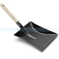 Kehrschaufel schwarz Nölle Blech-Holzstiel
