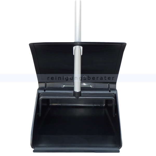 kehrschaufel tts standschaufel clip grau mit griff. Black Bedroom Furniture Sets. Home Design Ideas