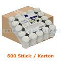 Kerzen Gastro Line Teelichter weiß 4 h 600 Stück Karton