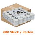 Kerzen Gastro Line Teelichter weiß 6 h 400 Stück Karton