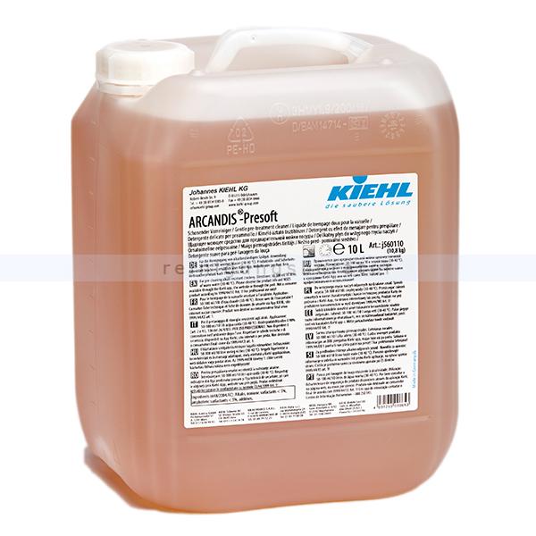 Kiehl ARCANDIS-Presoft flüssiger Vorreiniger 10 L Vorreiniger schonend für Geschirr, Besteck, Töpfe und Co j560110