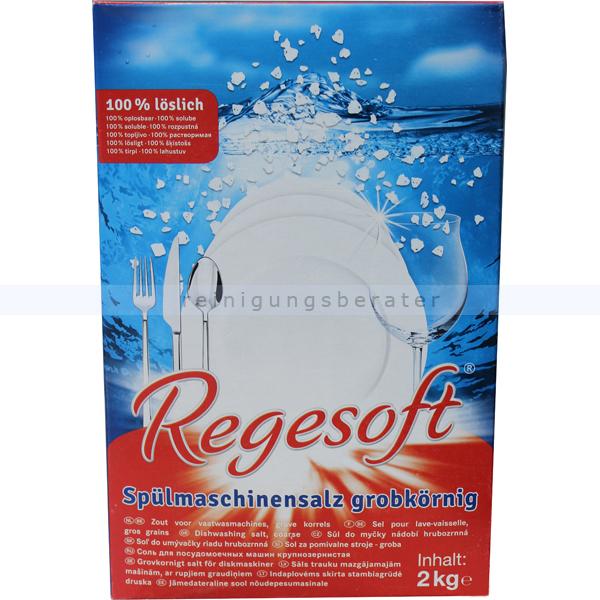 Kiehl Regesoft ehemals ARCANDIS®-Salt Ster Spezial-Salz 2 kg grobkörniges Spülmaschinensalz für Wasserenthärtungsanlagen j56413b